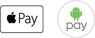 apple pay and google pay icons