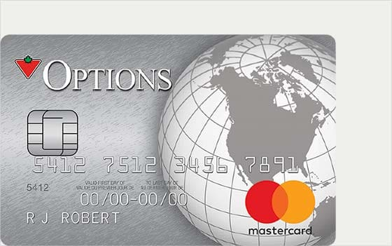 canadian tire options mastercard