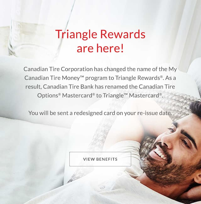 triangle rewards are here view benefits link opens in new tab