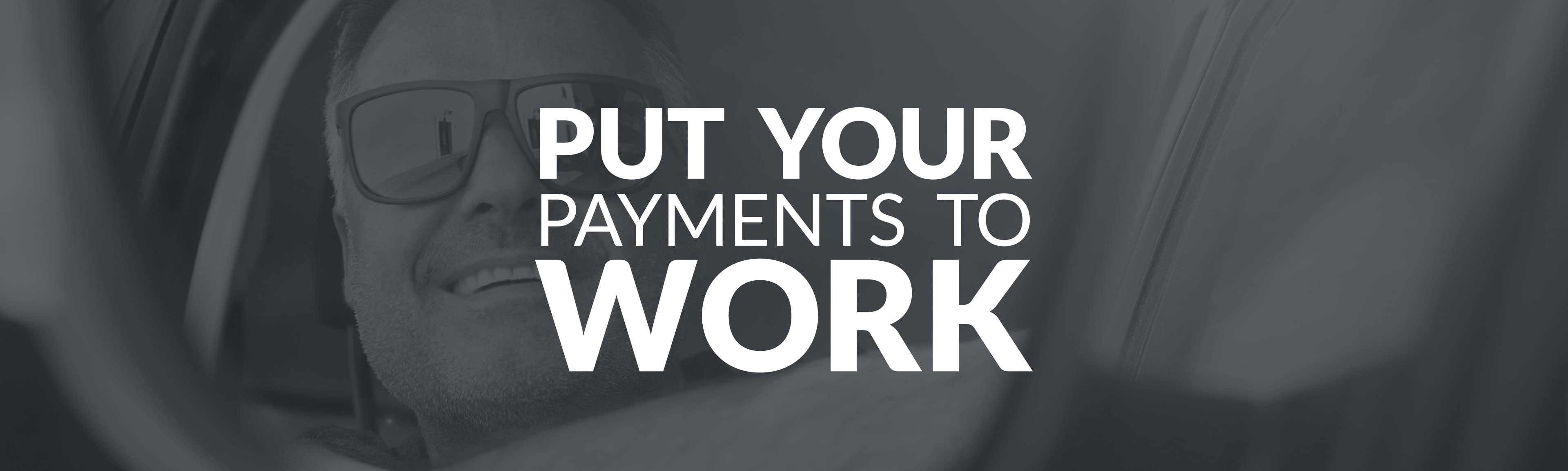 put your credit card to work